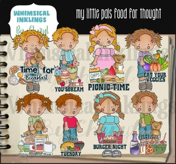 My Little Pals Food For Thought Clipart Collection