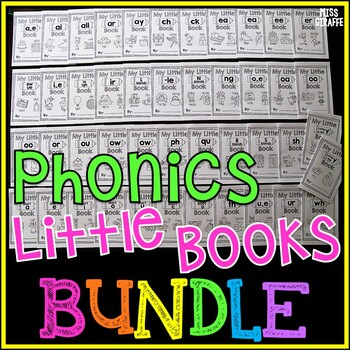 My Little Phonics Books MEGA Bundle {Entire Year Set}