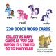 My Little Pony Dolch Sight Words Game!  Contains all 220 Dolch Sight Words