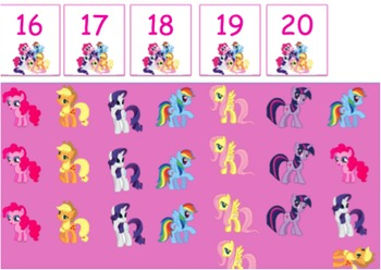 My Little Pony One More One Less Game
