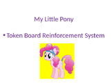 My Little Pony Positive Behavior Support (Autism, ODD, Spe