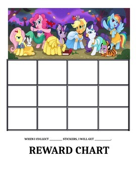 My Little Pony Reward Charts