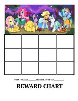 My little pony reward charts by deanna stapleton tpt
