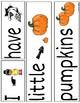 My Little Pumpkin Sight Word Book