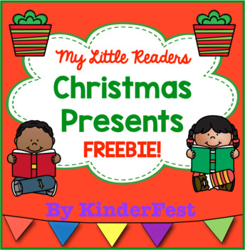 My Little Readers - Christmas Presents - FREEBIE