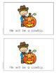 My Little Readers - Halloween Costumes - FREEBIE