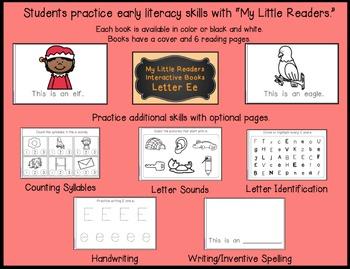 My Little Readers - Interactive Books - Emergent Reader Bundle 2
