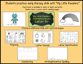 My Little Readers - Interactive Books - Emergent Readers Bundle 1