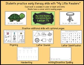 My Little Readers - Interactive Books - Emergent Readers Bundle 1