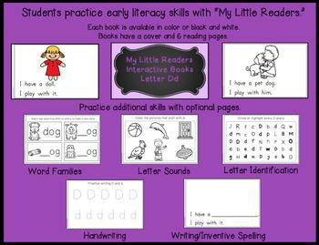 My Little Readers - Interactive Books -Emergent Readers Bundle 3
