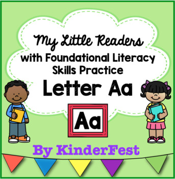 My Little Readers - Interactive Books - Emergent Reader Letter Aa