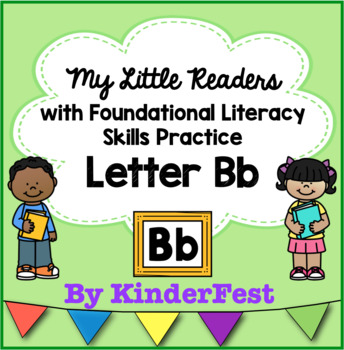 My Little Readers - Interactive Books - Emergent Reader  Letter Bb