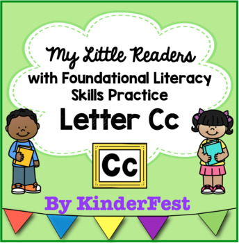My Little Readers - Interactive Books - Emergent Reader Letter Cc