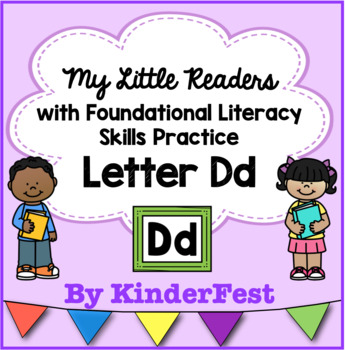 My Little Readers - Interactive Books - Letter Dd