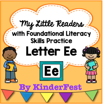 My Little Readers - Interactive Books - Emergent Readers Letter Ee