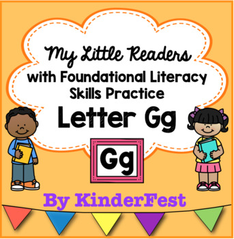 My Little Readers - Interactive Books - Emergent Reader Letter Gg
