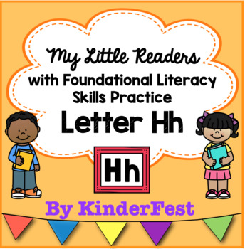 My Little Readers - Interactive Books -Emergent Reader Letter Hh