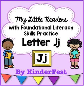 My Little Readers - Interactive Books -Emergent Reader Letter Jj