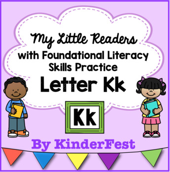 My Little Readers - Interactive Books -Emergent Reader Letter Kk