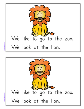 My Little Readers - Interactive Books - Emergent Reader Letter Ll
