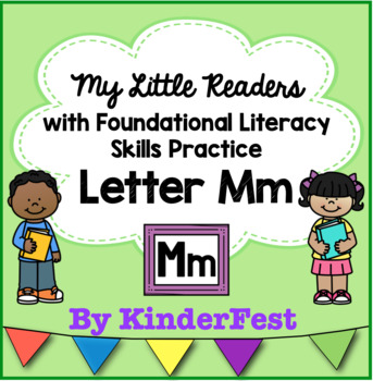 My Little Readers - Interactive Books - Emergent Reader Letter Mm
