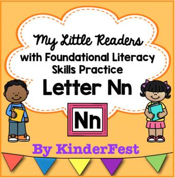 My Little Readers - Interactive Books -Emergent Reader Letter Nn