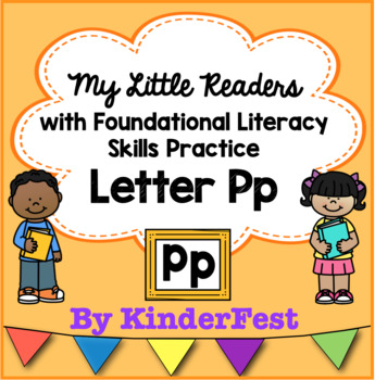 My Little Readers - Interactive Books - Emergent Reader Letter Pp