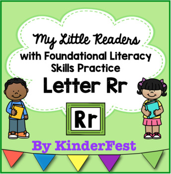 My Little Readers - Interactive Books - Letter Rr