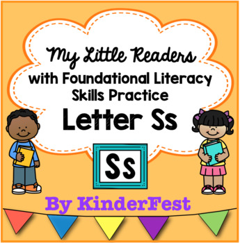 My Little Readers - Interactive Books - Emergent Reader Letter Ss