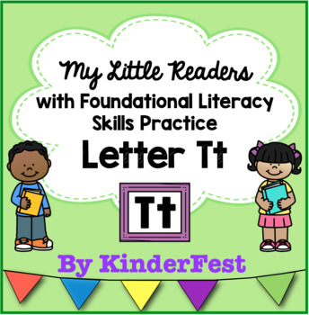 My Little Readers - Interactive Books - Emergent Reader Letter Tt