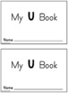 My Little Readers - Interactive Books - Emergent Reader Letter Uu