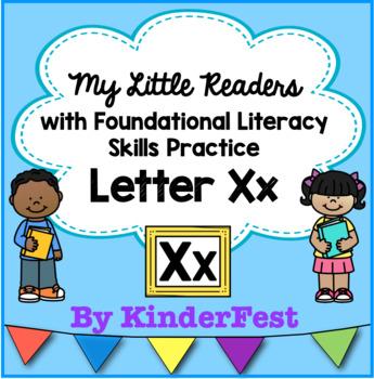 My Little Readers - Interactive Books - Emergent Reader Letter Xx