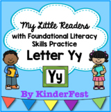 My Little Readers - Interactive Books - Emergent Reader Letter Yy