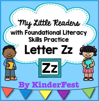My Little Readers - Interactive Books - Emergent Reader Letter Zz
