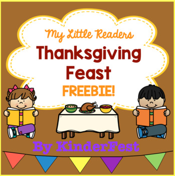 My Little Readers - Thanksgiving Feast - FREEBIE