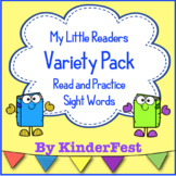 My Little Readers - Variety Pack - Read and Practice Sight Words