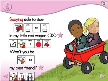 My Little Red Wagon - Animated Step-by-Step Song - PCS