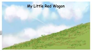 My Little Red Wagon - Vest Display - PCS