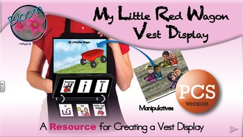 My Little Red Wagon - Vest Display - PCS