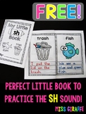 My Little SH Digraph Book - FREE