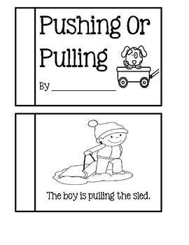 Pushing Or Pulling - Informational Text Easy Reader