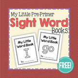 Pre-Primer Sight Word Little Books FREEBIE: I & Go Emergen