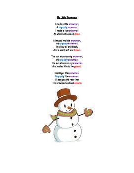 My Little Snowman