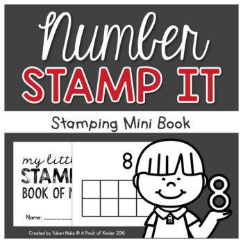 Number Centres: Number Stamp It!