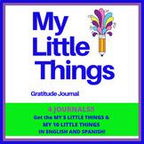 Gratitude Journals for Kids | My Little Things Journal Bundle