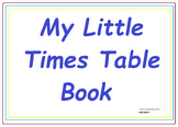 My Little Times Table Book Practice Book