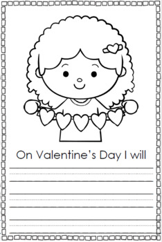 My Little Valentine's Day Coloring Book