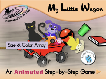 My Little Wagon - Animated Step-by-Step Game - SymbolStix