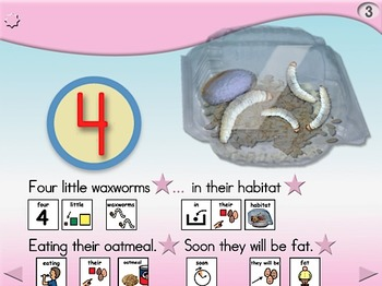 My Little Waxworm Song - Animated Step-by-Step Song - PCS