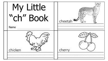 """My Little """"ch"""" Book"""